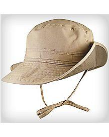 Khaki Canvas Boonie Hat