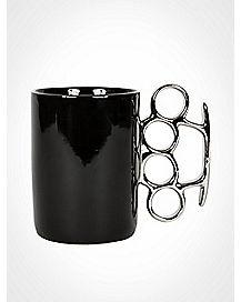 Black Knuckle Coffee Mug - 16 oz.
