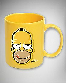 Embossed Homer Simpson Mug 20 oz
