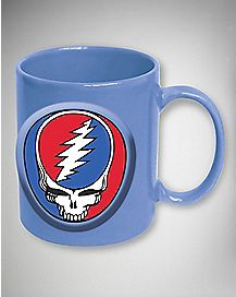 Embossed Grateful Dead Coffee Mug - 20 oz.