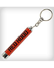 Red Hood Logo Light Key Chain