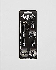 Arkham Logo Light Keychain