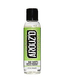 So Wet Premium Water-Based Lube 4 oz. - Arouz'd