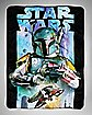 Universe Boba Fett  Star Wars Fleece Blanket