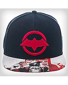 3D Embroidered Red Hood Snapback Hat