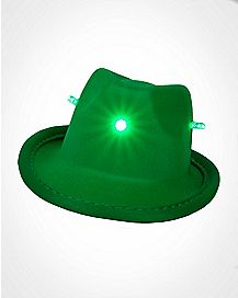 LED Mini Fedora Hair Clip