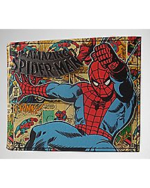 Comic Spiderman Bifold Wallet