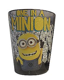One in a Minion Shot Glass