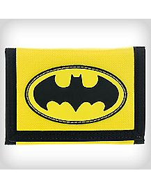 Neon Batman Velcro Wallet