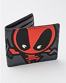 Kawaii Deadpool Bifold Wallet