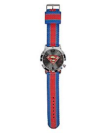 Large Face Superman Watch