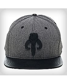 Black Grey Warriors of Mandalore Snapback Hat