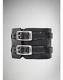 Double Strap Wrist Cuff