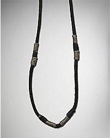 Hemp Cord Knot Necklace