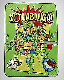 Cowabunga TMNT Fleece Blanket