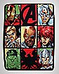 Character Grid The Avengers Fleece Blanket