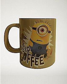 I Need Coffee Minions Coffee Mug 20 oz. - Despicable Me