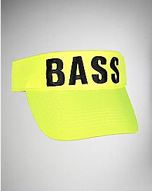 Yellow Bass Visor Hat