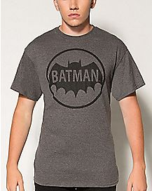 DC Comics Batman Circle Logo T shirt