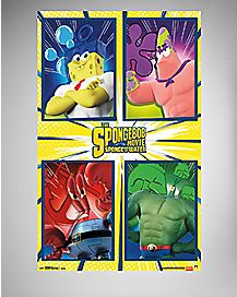 Team Spongebob Poster