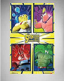 Team Spongebob Poster