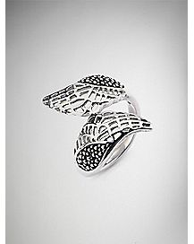 Stacked Wing Ring