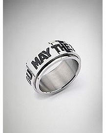 May Force Be with You Spinner Ring