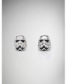 Stormtrooper Star Wars Stud Earrings