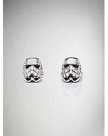 Stormtrooper Star Wars Stud Earrings