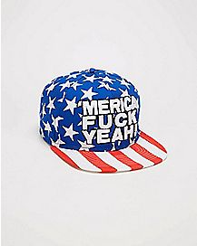 Merica Sublimated Snapback Hat