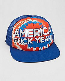 America Fuck Yeah Snapback Hat