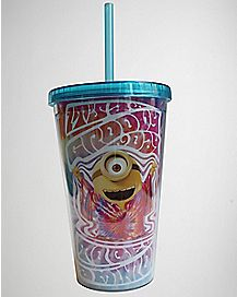 Hippy Despicable Me Cup with Straw 16 oz