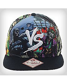Batman Vs Joker Snapback Hat