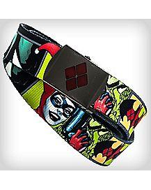 Sublimated Harley Quinn Web Belt
