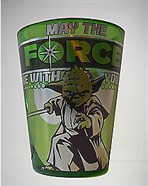 Laser Yoda Force Star Wars Shot Glass