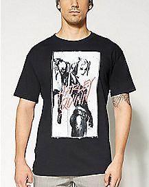 Inked Harley Quinn T shirt