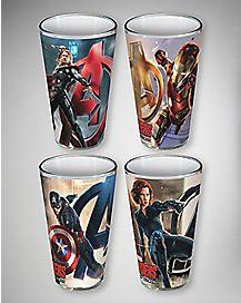 Age of Ultron Avengers Pint Glass Set  16 oz