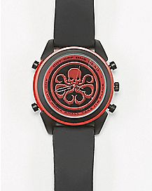 Avengers Marvel Watch Black & Red