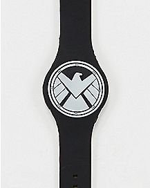 Agents Of Shield LED Watch Black