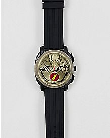 Black Comic Flash Watch - DC Comics