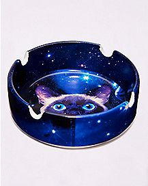 Galaxy Cat Ashtray