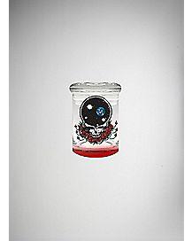Grateful Dead Storage Jar - 3 oz Glass