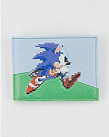 8 Bit Bifold Wallet - Sonic the Hedgehog