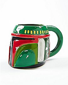 Molded Boba Fett Coffee Mug 16 oz. - Star Wars