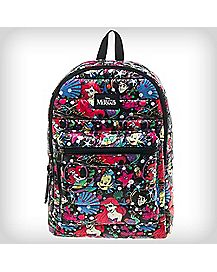 Allover Ariel Disney Backpack