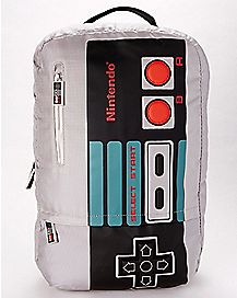 3D Button Controller Nintendo Backpack