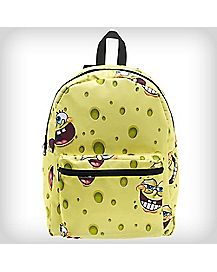Flip Pak Reversible Allover Print Spongebob Backpack