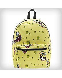 Flip Pak Reversible Allover Print Spongebob Backpack