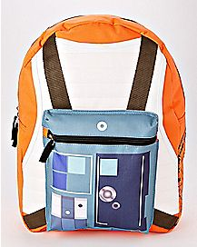 Hooded Rebel Star Wars Backpack