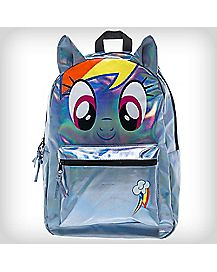 3D Holographic Rainbow Dash My Little Pony Backpack